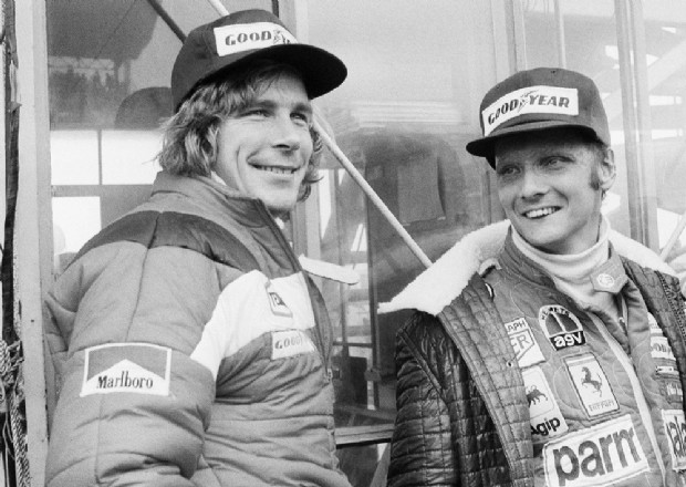 Niki Lauda y James Hunt | GAZETTENET